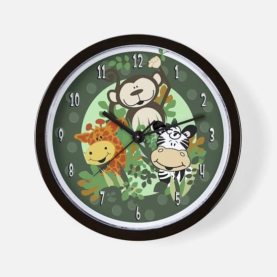 The Zoo Crew Jungle Wall Clock