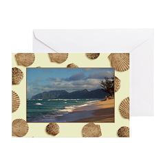 Serene Laie Hawaiian Beach - Celeste Sheffey Greet