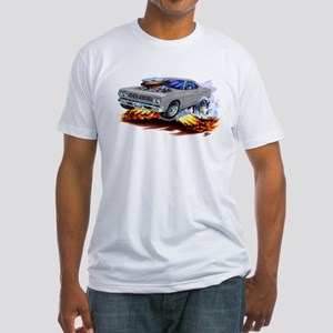 Roadrunner Silver/Grey Car Fitted T-Shirt