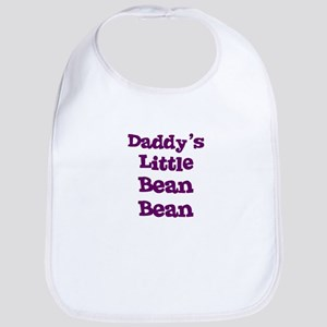 Daddy's Little Bean Bean Bib