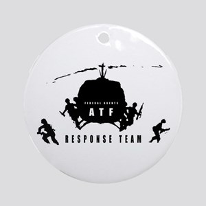 ATF Response Team Round Ornament
