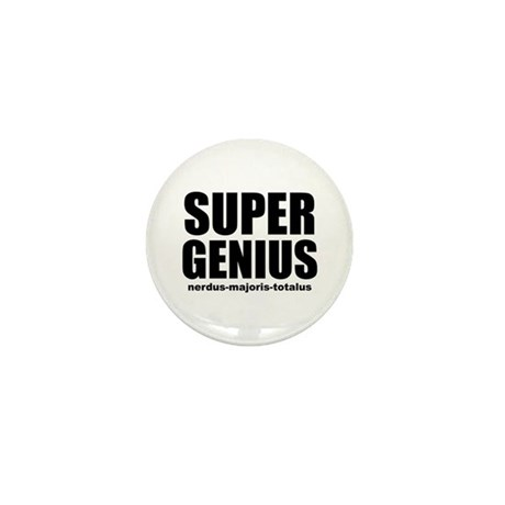 Super Genius Mini Button
