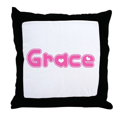 """Grace"" Throw Pillow"