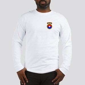 9th Infantry Division with Recon Tab Long Sleeve T