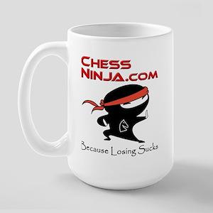 ChessNinja.com logo Mugs