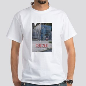 OBamaland chicago the Wall White T-Shirt
