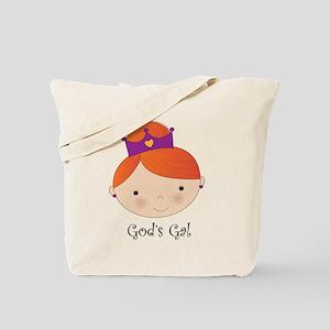God's Gal Red-Head Tote Bag