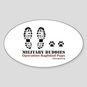 OBP Oval Sticker