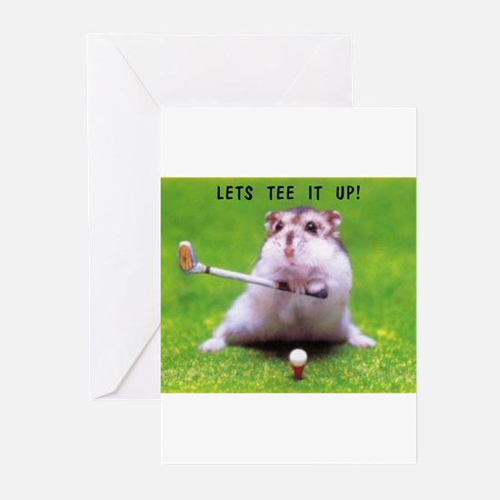 Funny Cute golf Greeting Cards (Pk of 10)