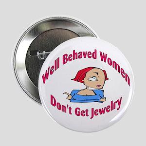 "Well Behaved Women Don't Get 2.25"" Button (10 pac"