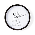 The Dancing Smiley Man - Carp Wall Clock