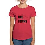 Five Towns Women's Dark T-Shirt