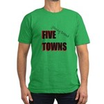Five Towns Men's Fitted T-Shirt (dark)