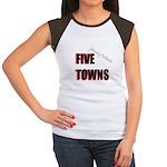 Five Towns Women's Cap Sleeve T-Shirt