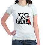 My Own Stunts Jr. Ringer T-Shirt
