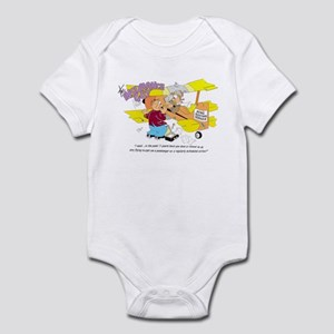 I SAID ... IN THE LAST 3 YEAR Infant Bodysuit