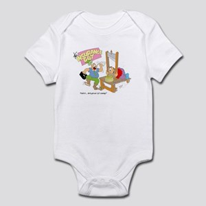 HOLD IT ... HE'S GOT I AND I Infant Bodysuit