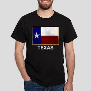 TEXAS FLAG Black T-Shirt