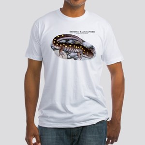Spotted Salamander Fitted T-Shirt
