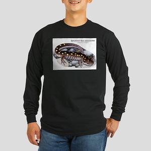 Spotted Salamander Long Sleeve Dark T-Shirt