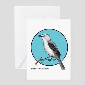 NORTHERN MOCKINGBIRD 1b Greeting Card