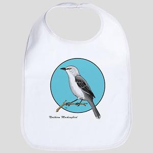 NORTHERN MOCKINGBIRD 1b Bib