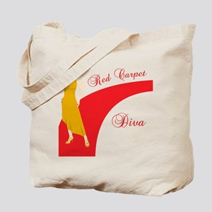 Red Carpet Diva Tote Bag