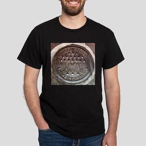 N.O. Water Meter Black T-Shirt
