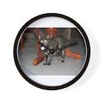 Tortoishell Cat 2 Wall Clock