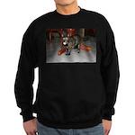 Tortoishell Cat 2 Sweatshirt (dark)