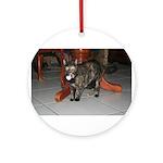 Tortoishell Cat 2 Ornament (Round)