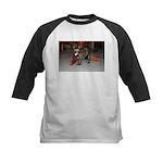 Tortoishell Cat 2 Kids Baseball Jersey