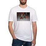 Tortoishell Cat 2 Fitted T-Shirt