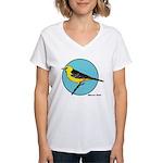 ALTAMIRA ORIOLE 1b Women's V-Neck T-Shirt