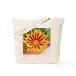 Tote Bag - Orange Daisy
