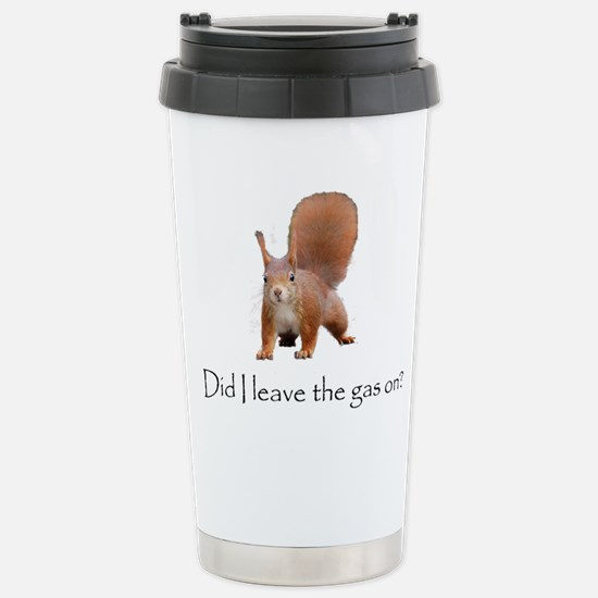 Squirrell Stainless Steel Travel Mug