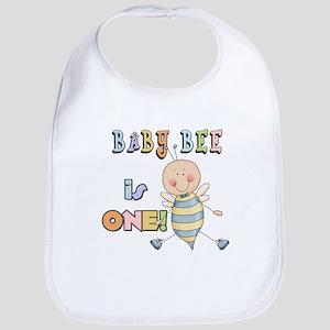 Boy Bee 1st Birthday Bib