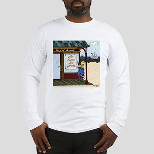 Pirates, No Legs, No Service Long Sleeve T-Shirt