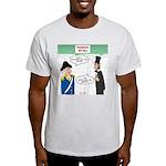 Presidents' Day Mattress Sale Light T-Shirt