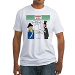Presidents' Day Mattress Sale Fitted T-Shirt