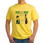 Presidents' Day Mattress Sale Yellow T-Shirt