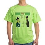 Presidents' Day Mattress Sale Green T-Shirt
