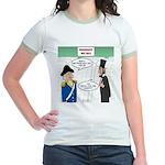 Presidents' Day Mattress Sale Jr. Ringer T-Shirt