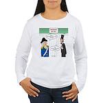 Presidents' Day Mattre Women's Long Sleeve T-Shirt