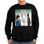 Presidents' Day Mattress Sale Sweatshirt (dark)
