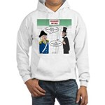 Presidents' Day Mattress Sale Hooded Sweatshirt
