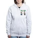 Presidents' Day Mattress Sale Women's Zip Hoodie