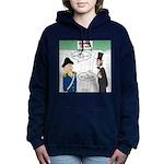 Presidents' Day Mattress Women's Hooded Sweatshirt