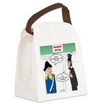 Presidents' Day Mattress Sale Canvas Lunch Bag