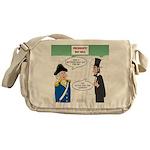 Presidents' Day Mattress Sale Messenger Bag